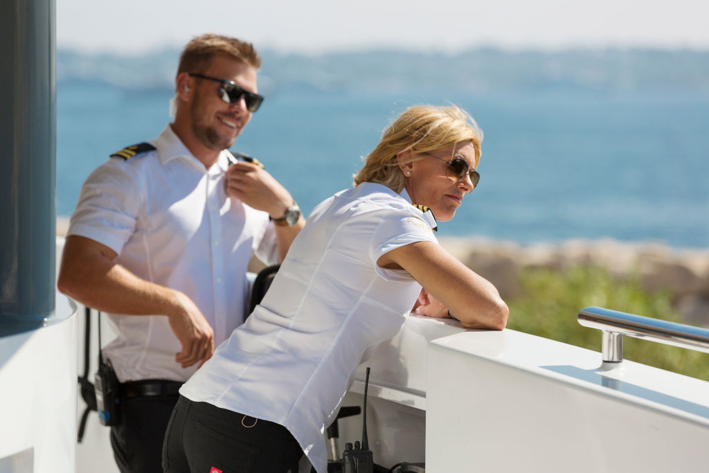 Joao Franco, Captain Sandy Yawn from 'Below Deck Mediterranean'