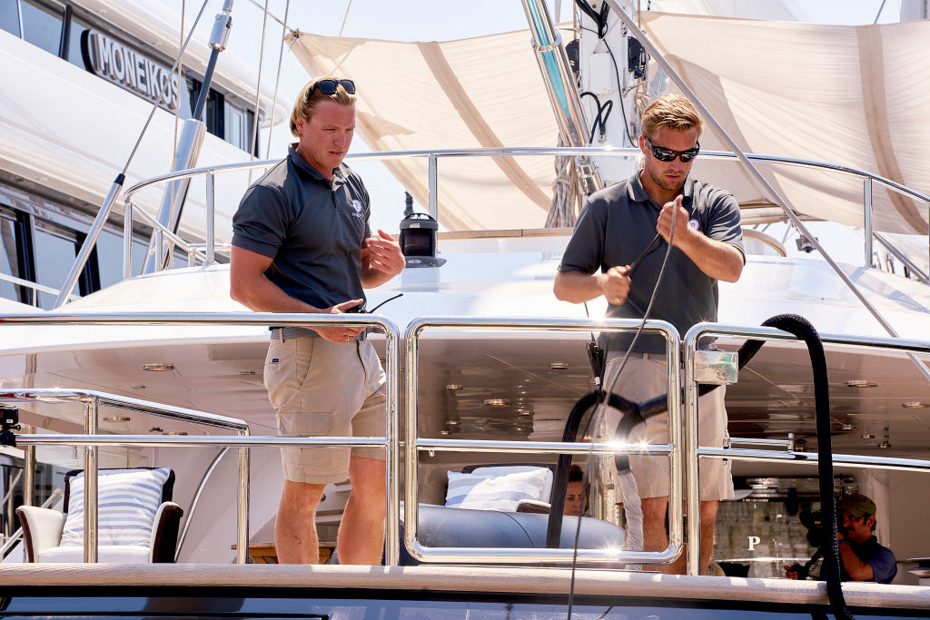 Paget Berry, Parker McCown from 'Below Deck Sailing Yacht'