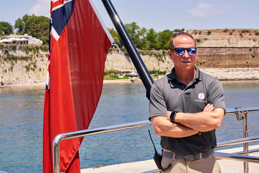Captain Glenn Shephard from 'Below Deck Sailing Yacht'