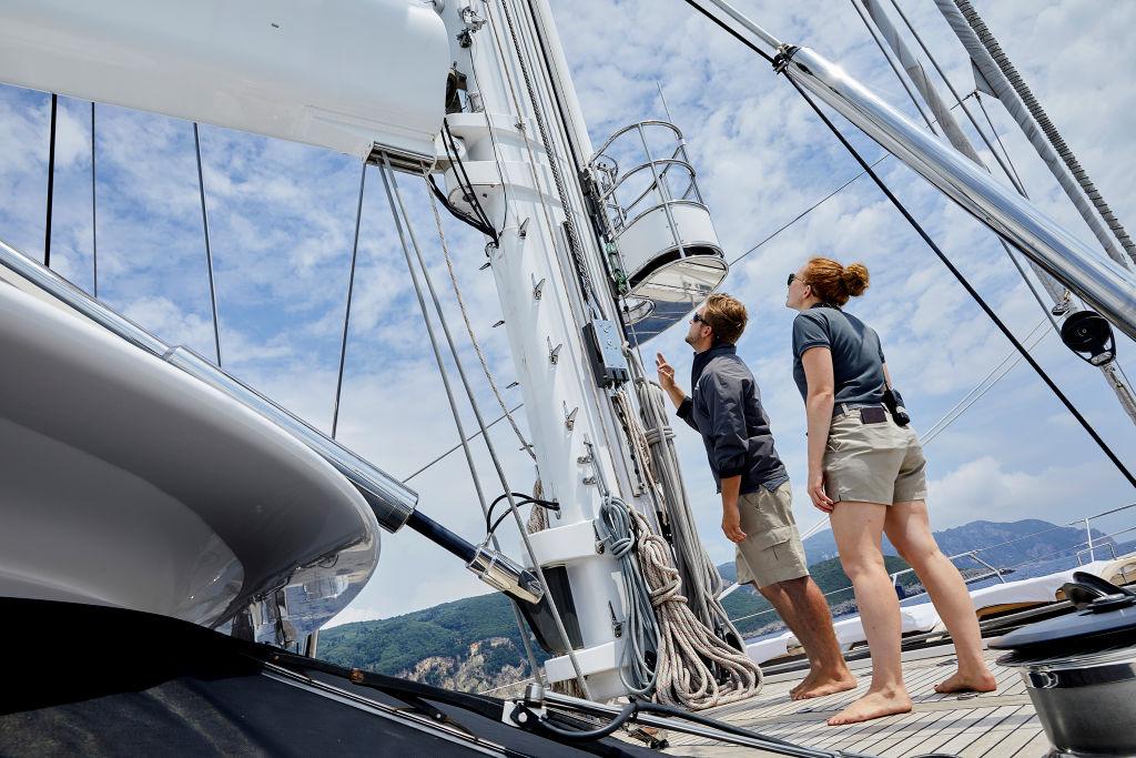 Parker McCown, Ciara Duggan from 'Below Deck Sailing Yacht'