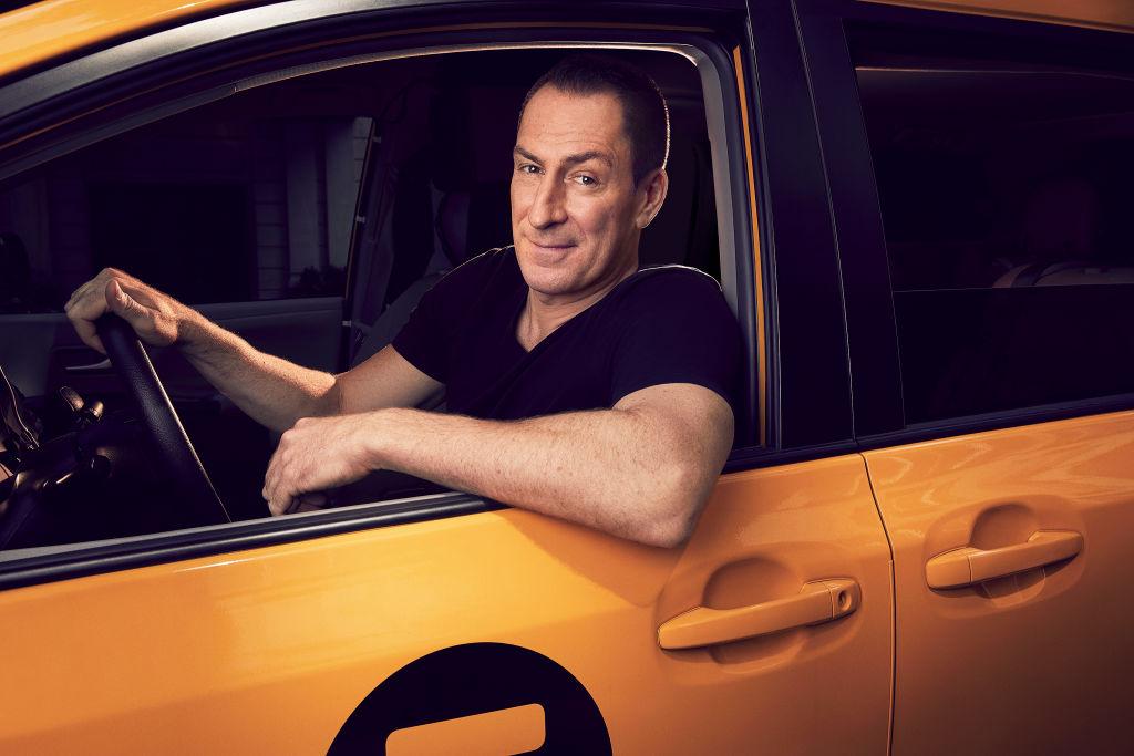 Ben Bailey in the Cash Cab