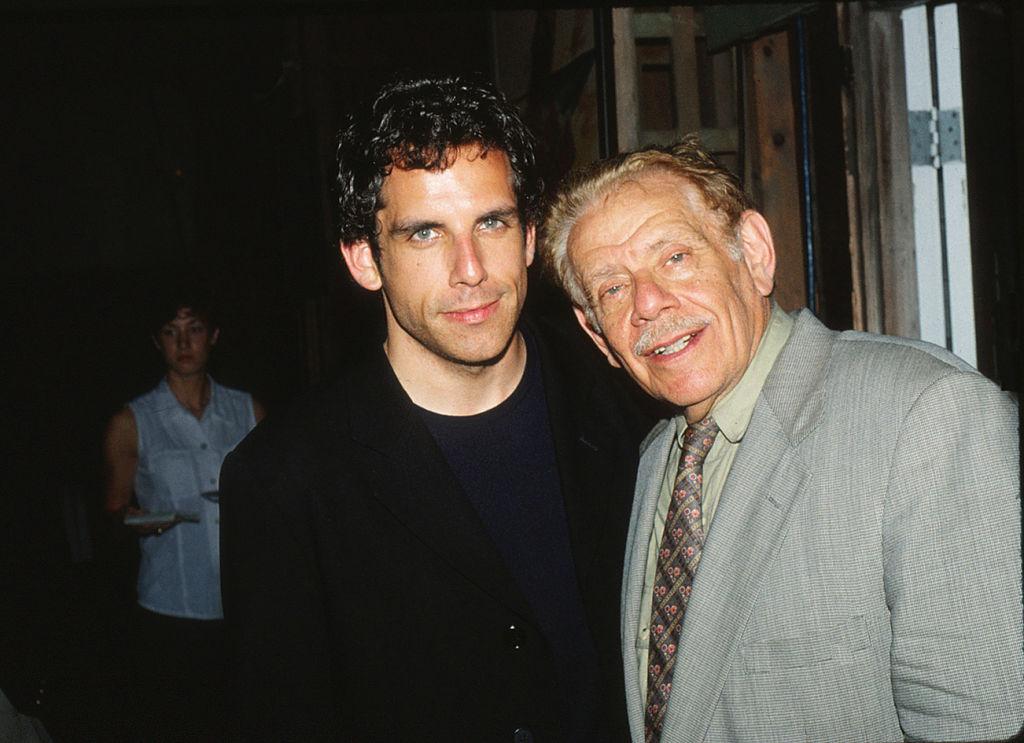 Ben Stiller and Jerry Stiller   Lindsay Brice/Getty Images