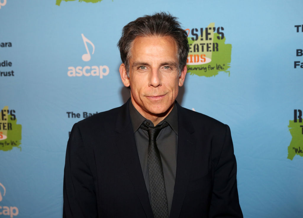 Ben Stiller poses at the 2019 Rosie's Theater Kids Fall Gala