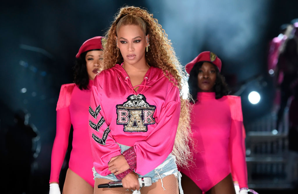 Beyoncé Knowles-Carter performs on stage during the 2018 Coachella Valley Music and Arts Festival