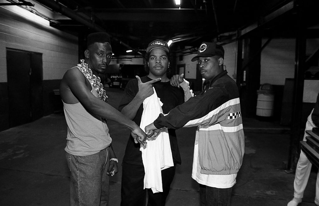 Big Daddy Kane, Ice Cube, and Chuck D