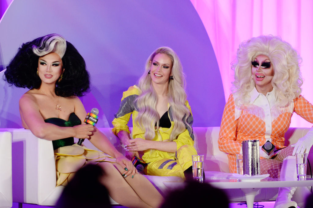 Manila Luzon, Blair St. Clair, and Trixie Mattel of 'RuPaul's Drag Race' and 'RuPaul's Drag Race: All-Stars'