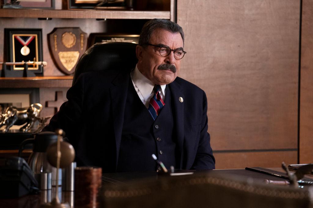 Tom Selleck as Frank Reagan on 'Blue Bloods'