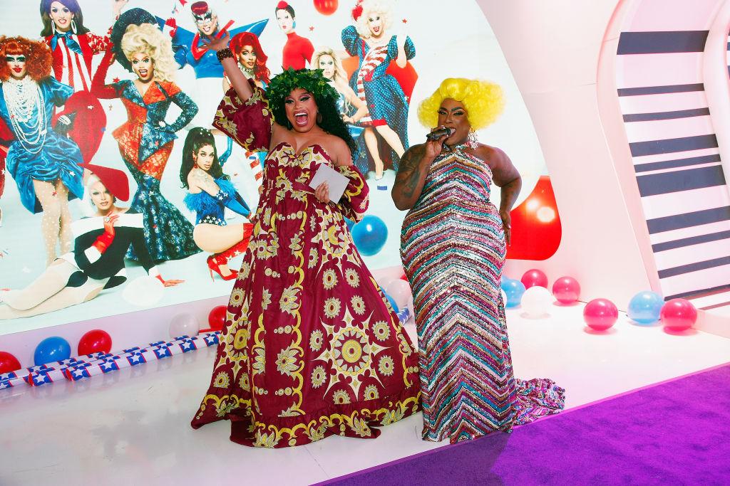 Brita Filter and Widow Von' Du attend 'RuPaul's Drag Race Season 12'
