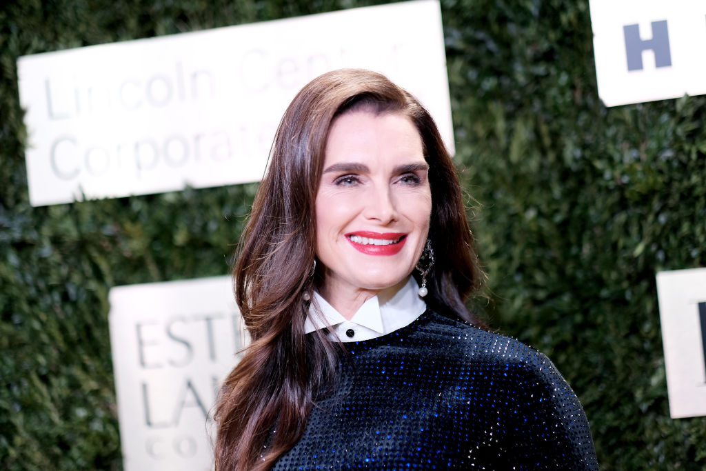 Brooke Shields attends the Lincoln Center Corporate Fashion Gala