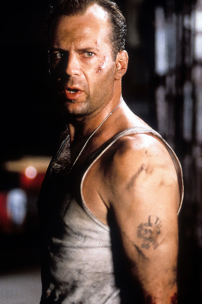 Bruce Willis in Die Hard with a Vengeance