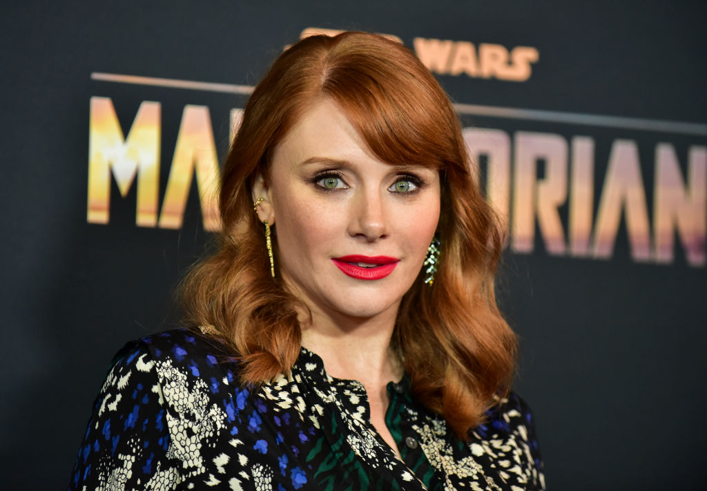 Bryce Dallas Howard attends the premiere of Disney+'s 'The Mandalorian'