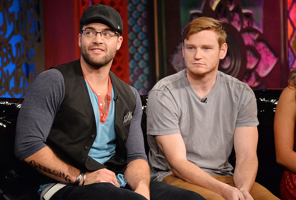 Chris 'CT' Tamburello (L) and Wes Bergmann appear on MTV's 'The Challenge: Rivals II' final episode and reunion party