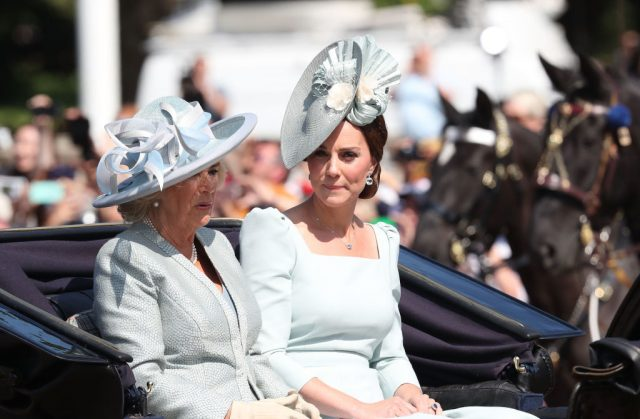 Camilla Kate Trooping the Colour