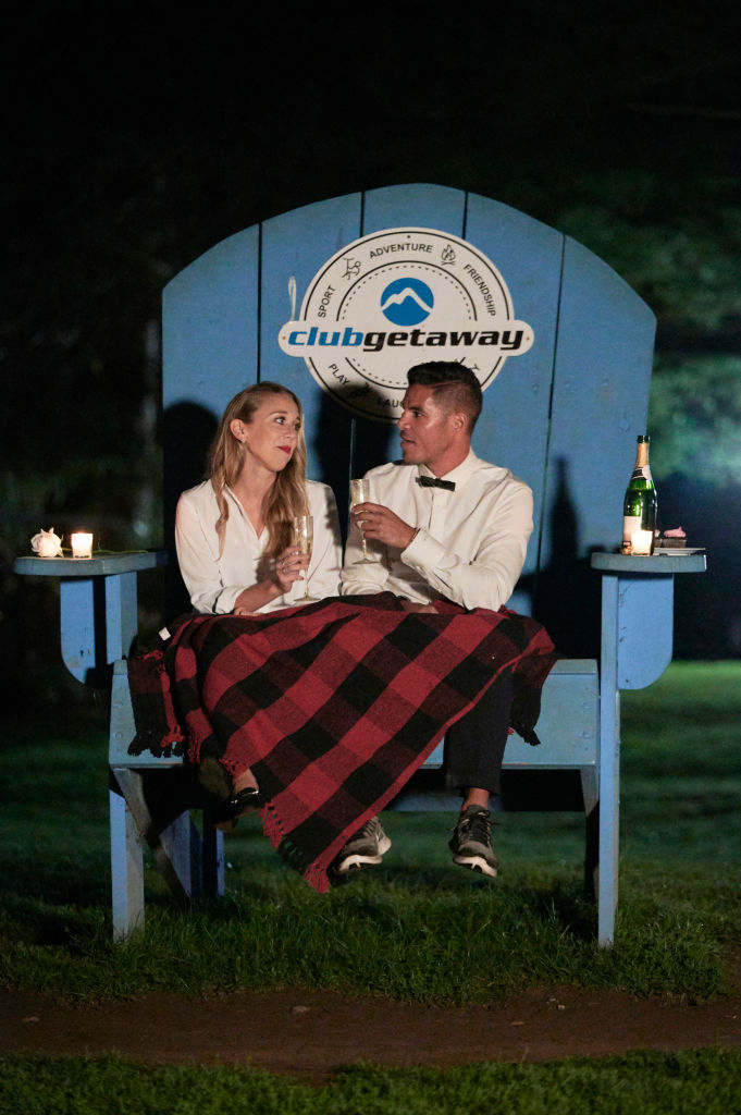 Sophia D'Angelo, Adam Mizrahi from 'Camp Getaway'