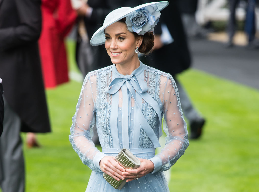 Catherine, Duchess of Cambridge attends day one of Royal Ascot