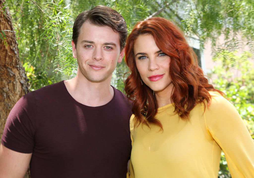 Chad Duell and Courtney Hope