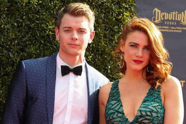 'General Hospital' Star Chad Duell and Fiancée Courtney Hope Try Out Viral TikTok Trend