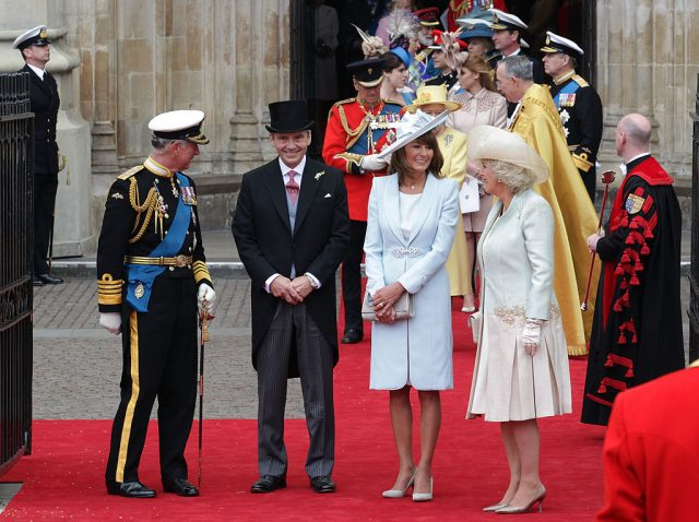 Charles Camilla the middletons