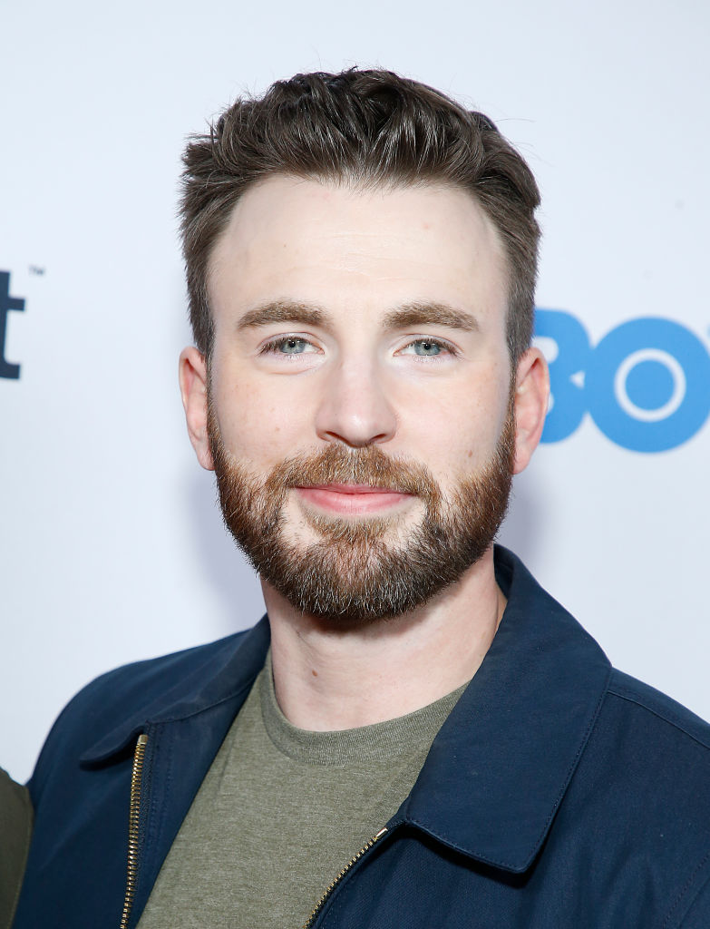 Chris Evans MCU star