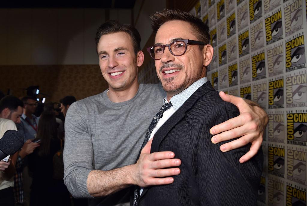 Chris Evans Robert Downey Jr.