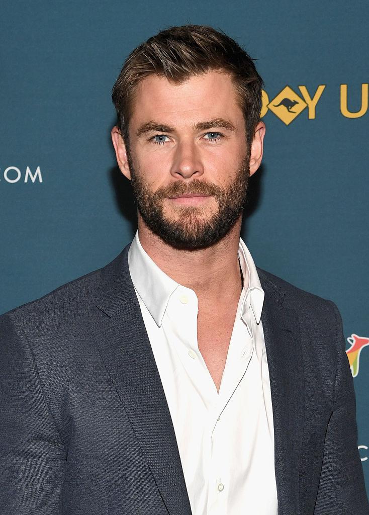 MCU star Chris Hemsworth