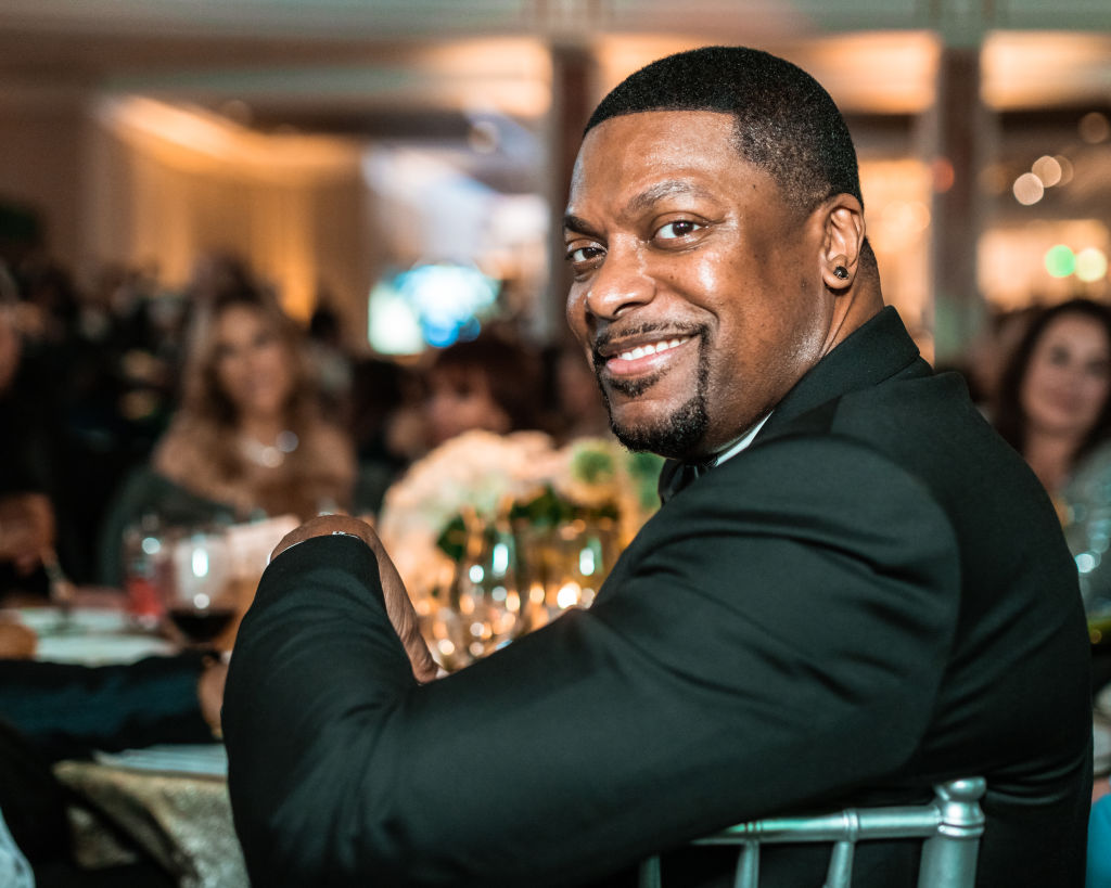 Chris Tucker at an event in February 2020