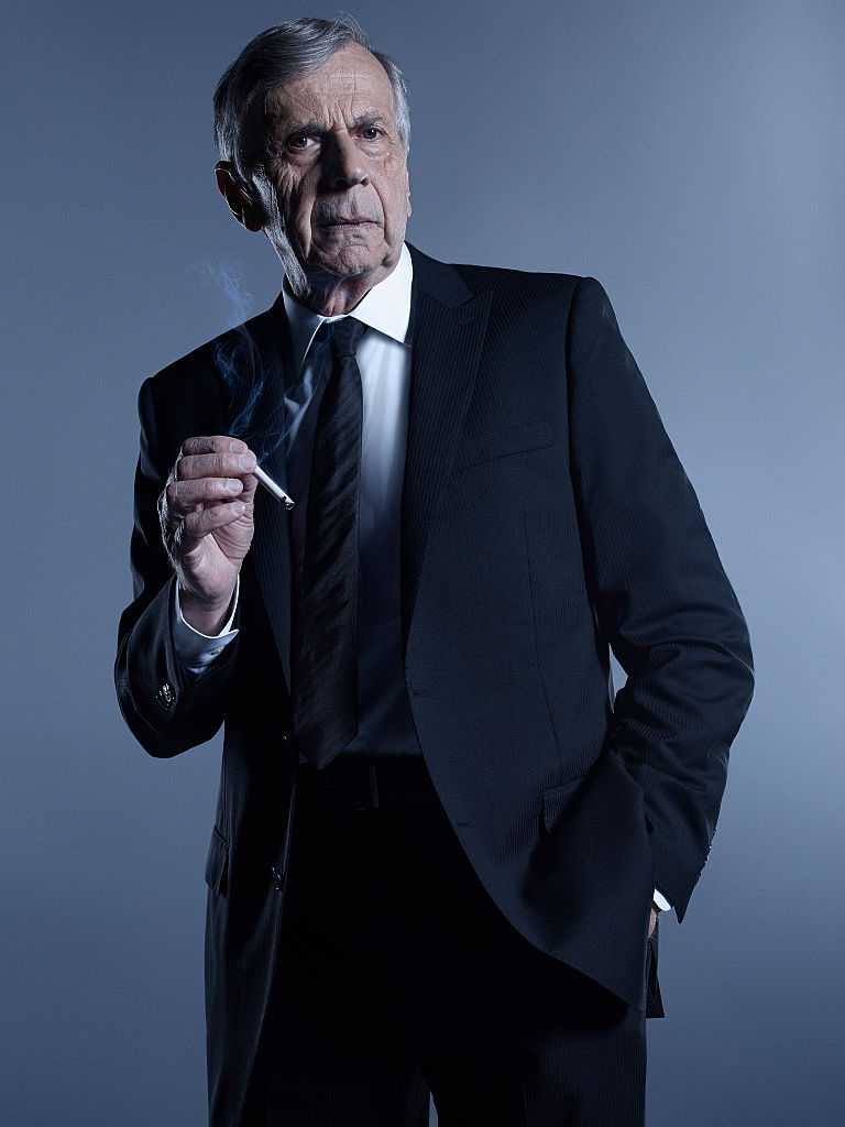 The X-Files character, the cigarette smoking man