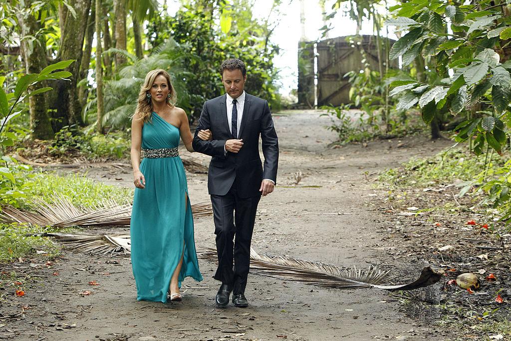 "Clare Crawley and Chris Harrison on ABC's ""The Bachelor"" - Season 18"