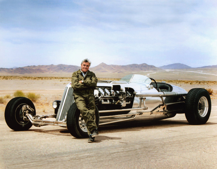 Classic car collector Jay Leno