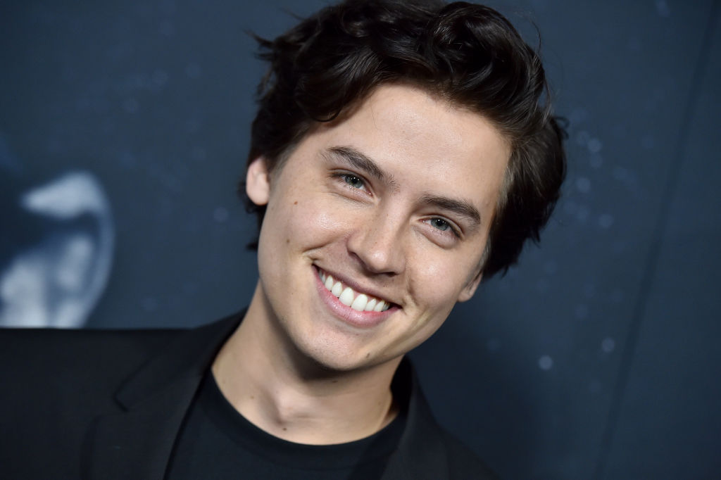 """Cole Sprouse of 'Riverdale' attends the premiere of A24's """"Uncut Gems"""" at The Dome at ArcLight Hollywood on December 11, 2019 in Hollywood, California."""