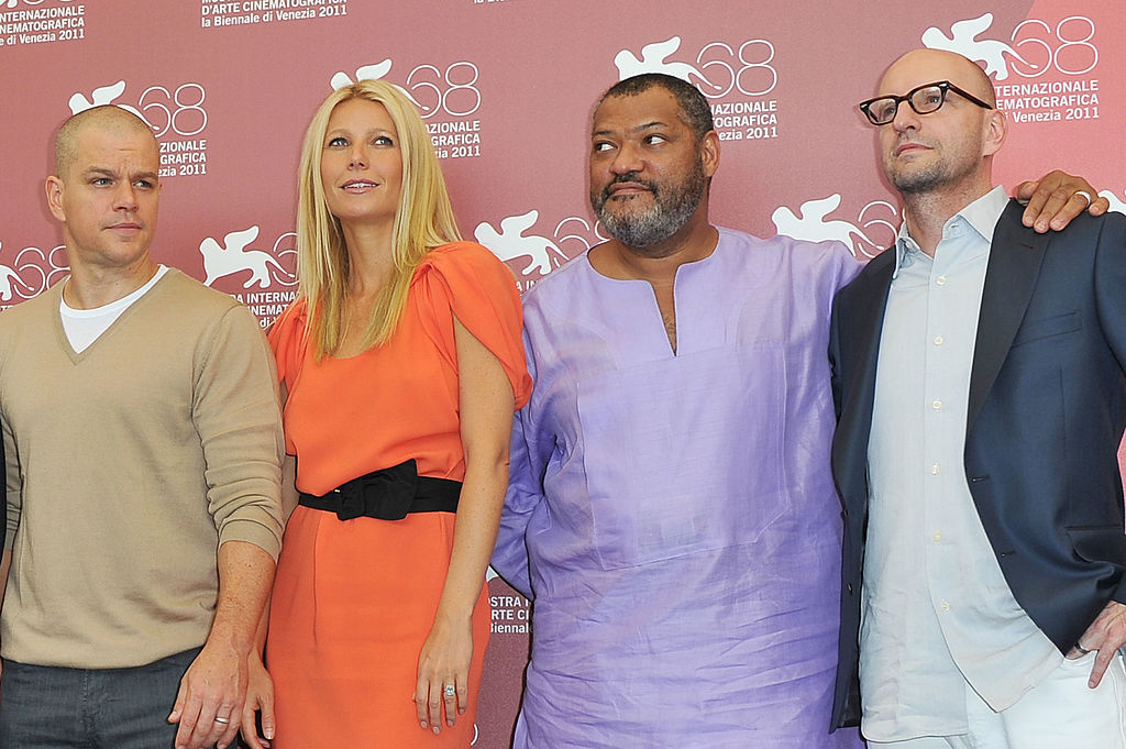 Contagion cast at the movie premiere