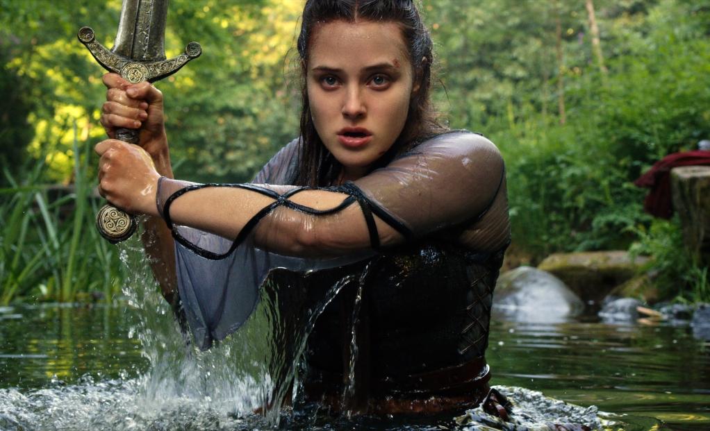 Katherine Langford as Nimue in 'Cursed'