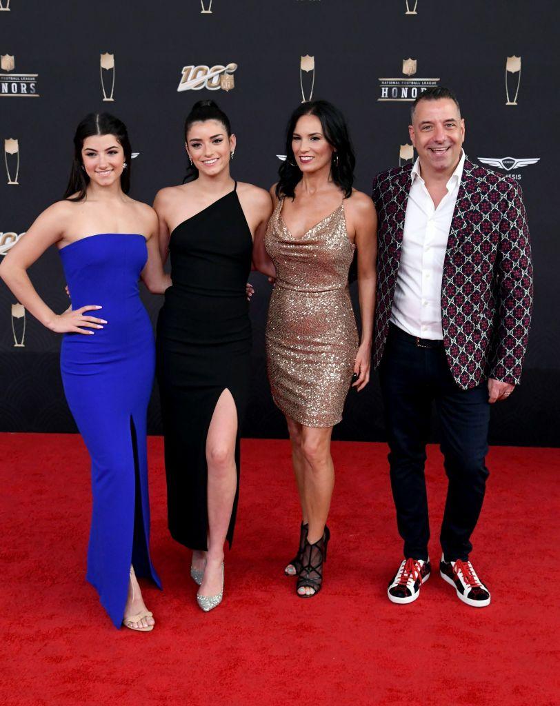 The D'Amelio family of TikTok fame
