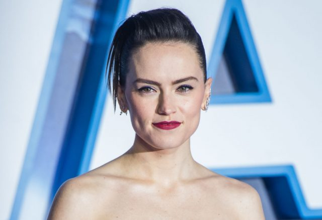 Daisy Ridley at the 'Star Wars: The Rise of Skywalker' European premiere