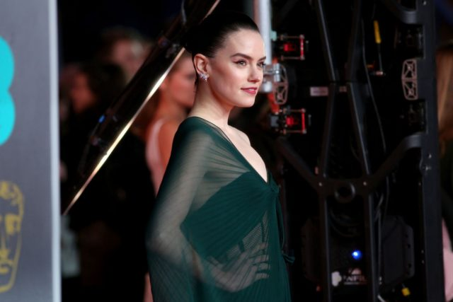 Daisy Ridley at the EE British Academy Film Awards