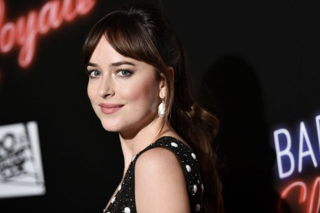 Dakota Johnson attends the premiere of 'Bad Times At The El Royale'