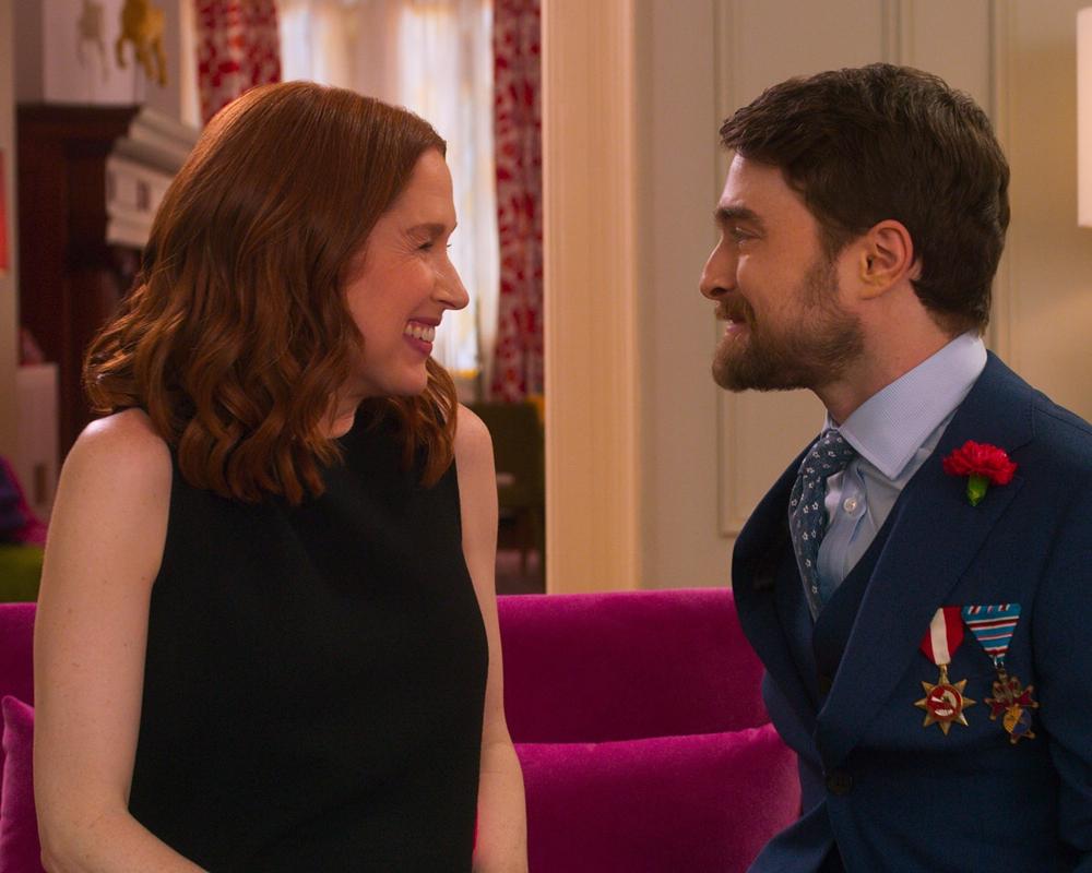 Daniel Radcliffe and Ellie Kemper