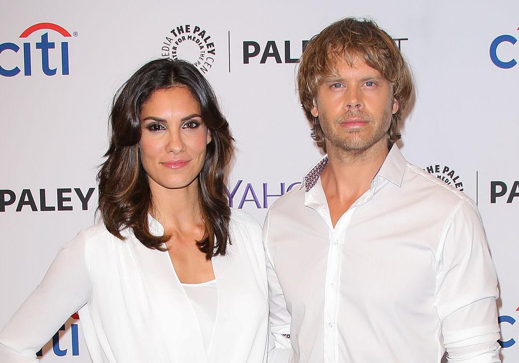 Daniela Ruah and Eric Christian Olsen   Paul Archuleta/FilmMagic