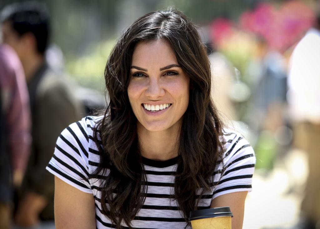 Daniela Ruah on the set of NCIS: Los Angeles |  Erik Voake/CBS via Getty Images