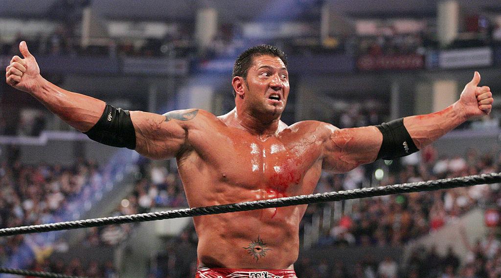 Dave Bautista at Wrestlemania 21