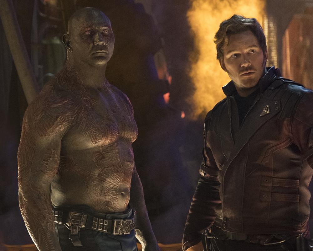 Marvel's Avengers: Infintiy War - Dave Bautista and Chris Pratt