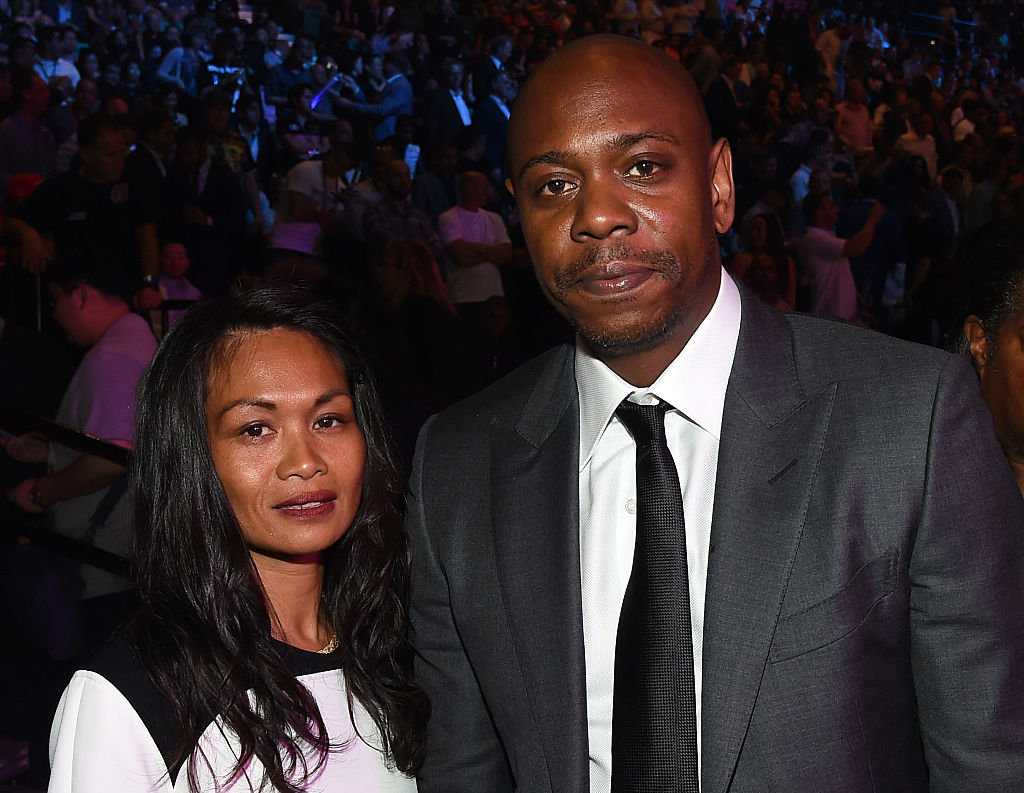 Elaine Chappelle and Dave Chappelle at an event in May 2015