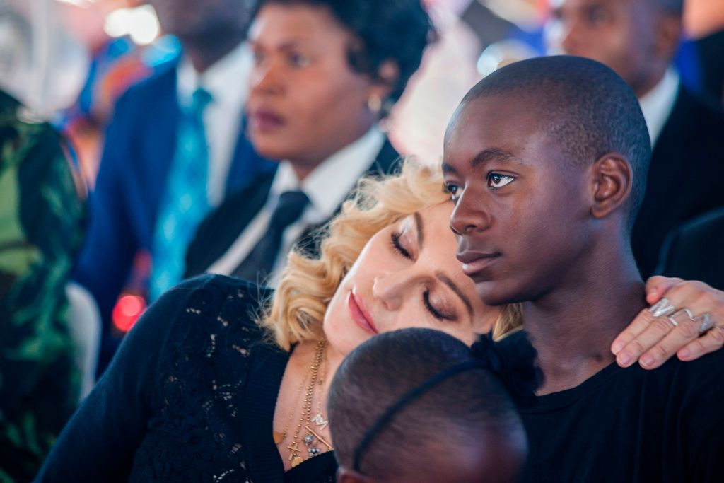 David Banda and Madonna