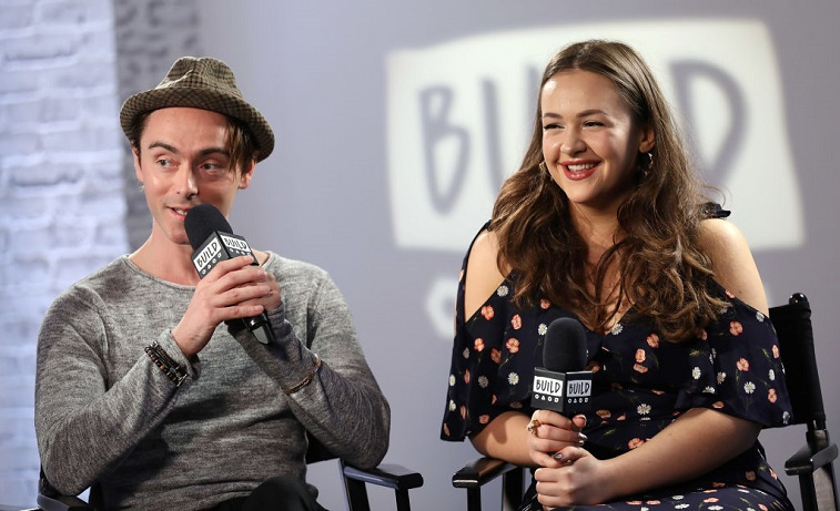 David Dawson and Eliza Butterworth