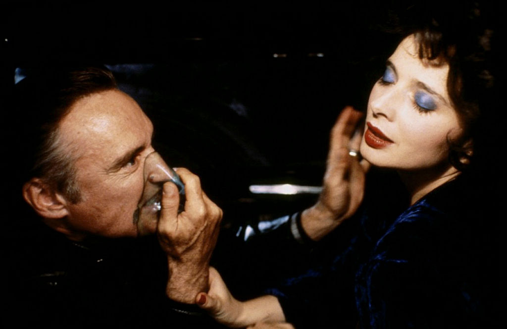 Dennis Hopper and Isabella Rossellini