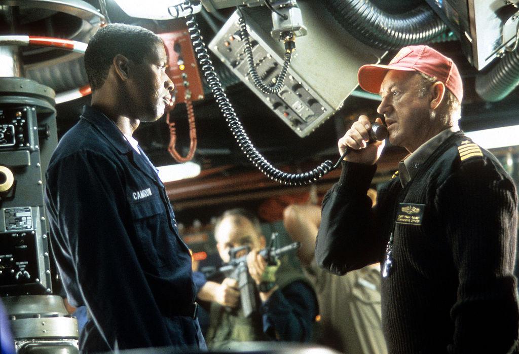 Denzel Washington and Gene Hackman in Crimson Tide