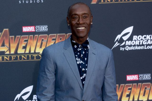 Don Cheadle at the 'Avengers: Infinity War' premiere