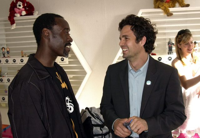Don Cheadle and Mark Ruffalo at the IFP Independent Spirit Awards