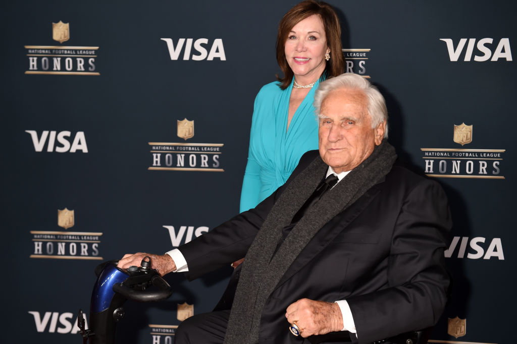 Don Shula with his wife, Mary Anne Stephens