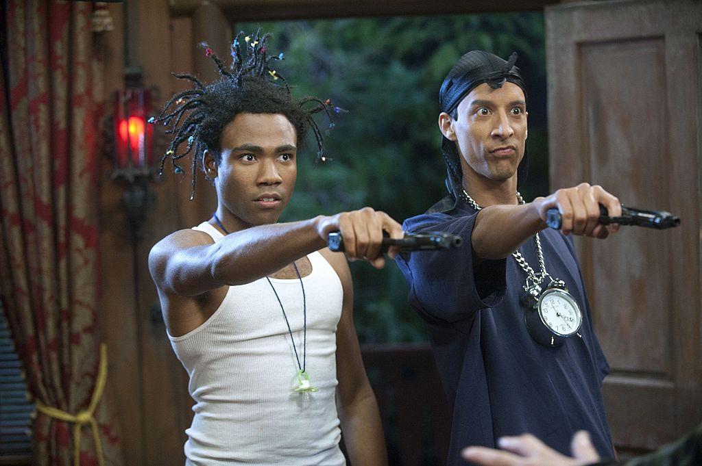 Donald Glover and Danny Pudi in 'Community'